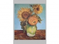 Tri slnečnice vo váze / Three sunflowers in vase