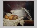 Biela polievková misa / White soup tureen