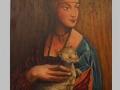 Dáma s hranostajom II / Lady with an ermine II