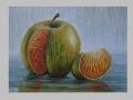 Orange appled